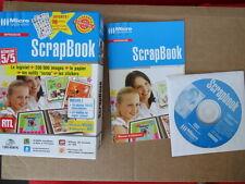 Logiciel PC ScrapBook pour tout créer en Scrapbooking NEUF sans papier / stikers