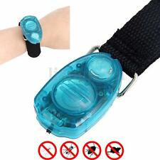 Ultrasonique Anti-Moustique Repeller Insecte Punaise Répulsif Bracelet Bande
