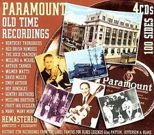 Paramount Old Time Recordings [Remaster] by Various Artists (CD, Aug-2006, 4...