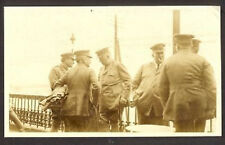RUSSIA REVOLUTION RED CROSS OFFICERS PH 1917 CARD USA a