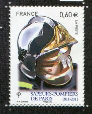 FRANCE 2011, timbre SAPEURS-POMPIERS de PARIS, SOLDAT du FEU, neuf**