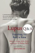 Lupus Q&A: Everything You Need to Know, Revised Edition - Lahita, Robert G. - Pa