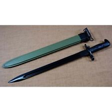 "WWII US Army Reproduction M1942 Bayonet and M3 scabbard M1 Garand 16"" Repro -E20"