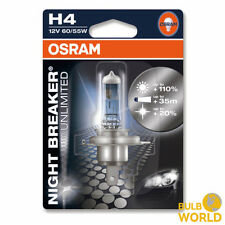 OSRAM H4 12V NightBreaker Night Breaker UNLIMITED +110% mehr Licht 1St. 64193NBU