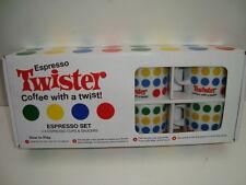 ESPRESSO TWISTER - ESPRESSO SET - COFFEE WITH A TWIST  2-4  PLAYER GAME