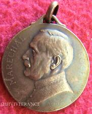 MED2058 - MEDAILLETTE MARECHAL FOCH 1918