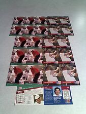 *****Phil Blackmar*****  Lot of 24 cards.....2 DIFFERENT / Golf