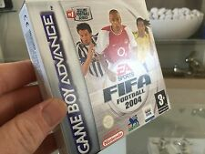 RETRO GAMING - GAMEBOY ADVANCED FIFA FOOTBALL 2004 - NEW