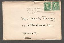 1919 cover Oxford Ohio The Western College For Women to Mrs Frank Seager Fremont