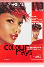 L'oreal Paris Colour Rays Hair Color, Red Rays (4 Pack)