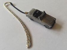 MG Midget Mk2 ref135  FULL CAR on a Pattern bookmark with cord