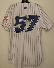 Jose Tabata Autographed GAME WORN Jersey - Thunder