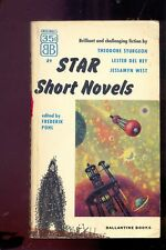 STAR SHORT NOVELS (F. POHL editor) 1954 3 romans de Sturgeon, J. West et Del Rey