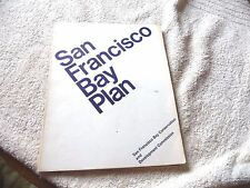 SAN FRANCISCO BAY PLAN WITH NUMEROUS PULL-OUT MAPS RICHMOND TO BERKELEY OAKLAND