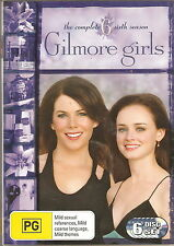 GILMORE GIRLS - Series 6. Lauren Graham, Alexis Bledel (6xDVD SLIM BOX SET 2007)