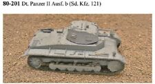 MGM 80-201 1/72 Resin WWII German Panzer II Ausf. b (Sd. Kfz. 121)