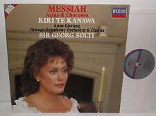 417 449-1 Handel Messiah Arias & Choruses Kiri Te Kanawa Chicago Sym Solti