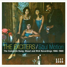 "THE EXCITERS  ""SOUL MOTION, THE COMPLETE BANG, SHOUT & RCA RECORDINGS 1966-1969"""
