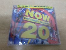 NOW THAT'S WHAT CALL MUSIC 20 ISRAELi CD 2014 INDILA LANA DEL REY COLDPLAY IGGY