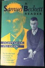 I Can't Go On,I'll Go On:A Selection from Samuel Beckett's Work PBk FINE
