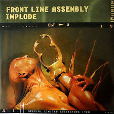 FRONT LINE ASSEMBLY Implode 2LP VINYL 1999 LTD.2000