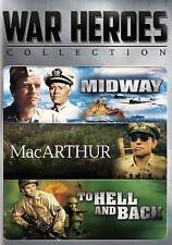 War Heroes Collection DVD, 2016, 2-Disc Set