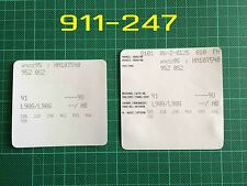 Porsche 928 944 924 VIN Data Bonnet Hood Maintenance Book Labels Stickers