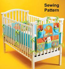 Kwik Sew K4034 Sweet Chic Design Pattern Organisers & Crib Bumpers OSZ BN