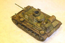 1/35 GERMAN PANZER III Ausf L  - BUILT AND PAINTED MODEL