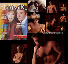 PLAYGIRL 2-82 ROBERT WAGNER RICK SPRINGFIELD  FEBRUARY 1982 UK MEN HAIRY collage