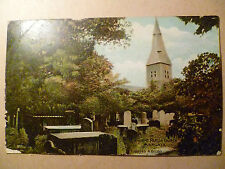 1906 Postcard- ANCIENT PARISH CHURCH, MARGATE,Scotland   Aberdeenshire + Stamp