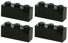 Missing Lego Brick 3622 Black x 4 Brick 1 x 3