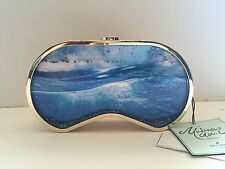 $498 NWT KATE SPADE MADISON, SPLASH OUT SCUBA MASK CLUTCH, GOLD, RARE, LAST ONE