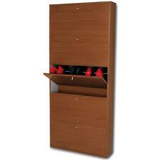 Scarpiera mobile legno ciliegio cinque ante salvaspazio SC1307 L65h164p15