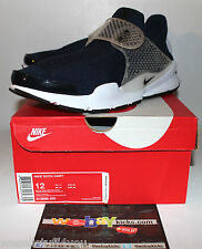 Nike Air Sock Dart Mesh Navy Blue White Sneakers Men's Size 12 New