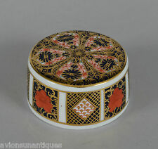 Royal Crown Derby 1128 Imari Lid