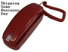 BRAND NEW RED Telephone Most Widely Used in USA Today! also use For magicjack go