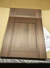 Walnut Shaker   ,500 mm wide, Door and Draw x 715mm Kitchen Unit Door