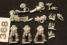 Games Workshop Warhammer 40k Chaos Space Marines Terminators Bits Metal Figures