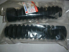 SUZUKI GS125  MODEL  FORK GAITORs RUBBER BOOTS FORK PROTECTION + CLIPS