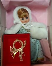 Madame Alexander 8 inch winter angel by Shirley Bertrand for Shirley's dollhouse