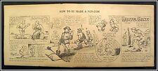 How To Be Made A Non-Com & Helpful Hints #15, WW1 Cartoon by Pvt. Wally Wallgren