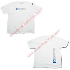 """IN STOCK"" AUTHENTIC SPARCO APPAREL ""WWW"" T-SHIRT WHITE - SIZE- X-SMALL"