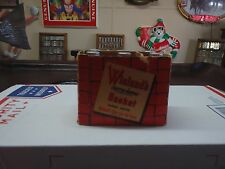 MINI 6 PACK BASKET OF JOHN WIELANDS AND A ONE WAY LABLE ON THE OTHER SIDE RARE
