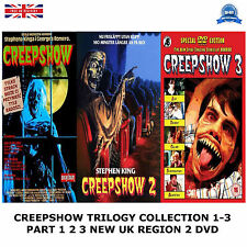 CREEPSHOW TRILOGY COLLECTION PART 1 2 3  BRAND NEW AND SEALED UK REGION 2 DVD