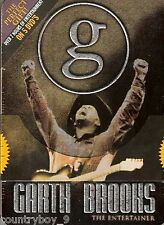 GARTH BROOKS THE ENTERTAINER  - 5 DVD SET - LIMITED EDITION OVER 7 HOURS * NEW