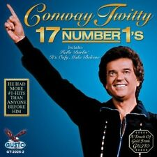 Conway Twitty - 17 Number 1s [New CD]