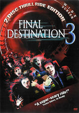Final Destination 3 ~ 2 Disc DVD Set dts ES with Slip Cover ~ FREE Shipping USA