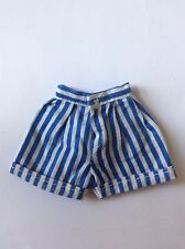 Sindy 1985 Trends 43053 - Blue Shorts -vintage dolls clothes postage discounts