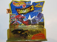 HOT WHEELS CRASHERS 2 DOUBLE DAMAGE RODZILLA